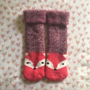 Accessories - Fox slipper socks